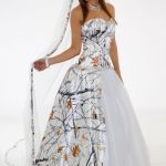 323 Best Camo Wedding Ideas Images On Pinterest Strapless Camo Wedding Dresses