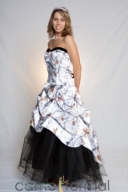 Strapless Camo Wedding Dresses Mossy Oak New Breakup attire Camouflage Prom Wedding Home Ing