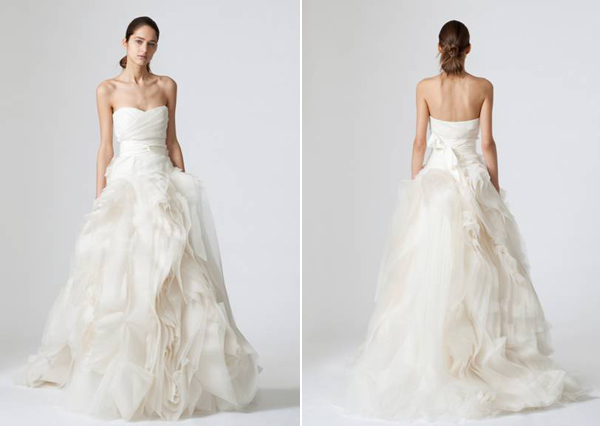 Vera Wang Dresses Wedding Vera Wang Wedding Dresses Madailylife