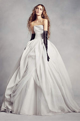 Vera Wang Dresses Wedding Wedding Dresses with Skirt Drama