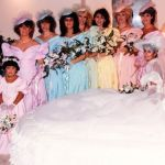 101 Best Bad Wedding Pictures Images On Pinterest Hideous Bridesmaids Dresses