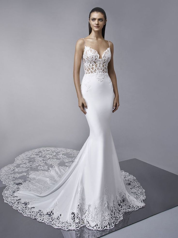 117 Best Bustle Gowns Images On Pinterest Enzoani Mother Of the Bride Dresses