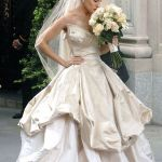 Carrie Bradshaw The Bride Wearing Vivienne Westwood Wedding Gown Vivienne Westwood Wedding Dresses