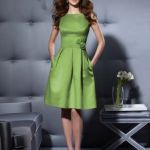 Cerulean Bridesmaid Dresses Rosettes Pockets Green Classy Like Except The Shoes
