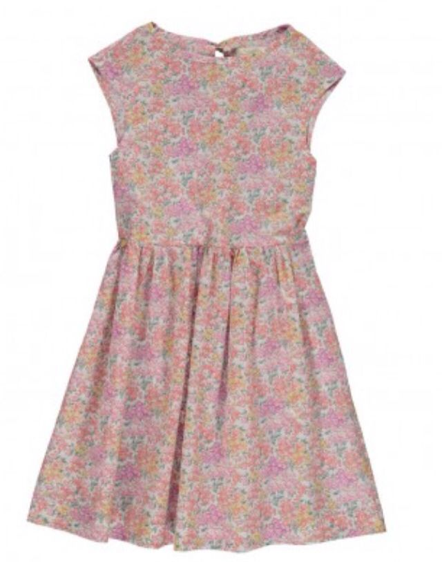 Coquetas Dresses Poppyrose Porcha Dress In Liberty Fabric