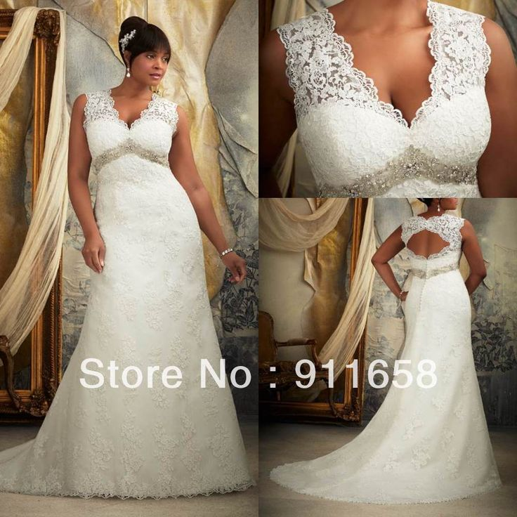 Flowing Wedding Dresses Plus Size