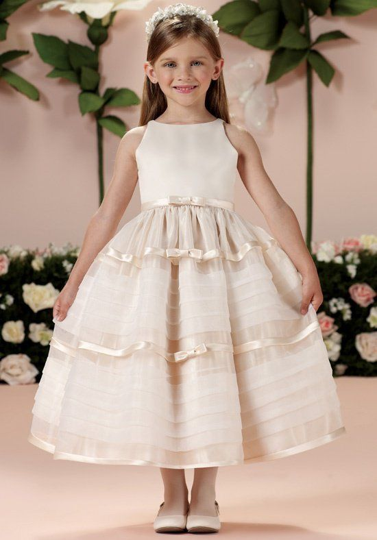 Joan Calabrese by Mon Cheri First Munion Joan Calabrese Flower Girl Dresses