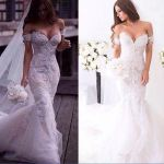 Mexican Wedding Dresses Designers 2016 Gorgeous Arabic Spring Lace Mermaid Wedding Dresses Ivory F