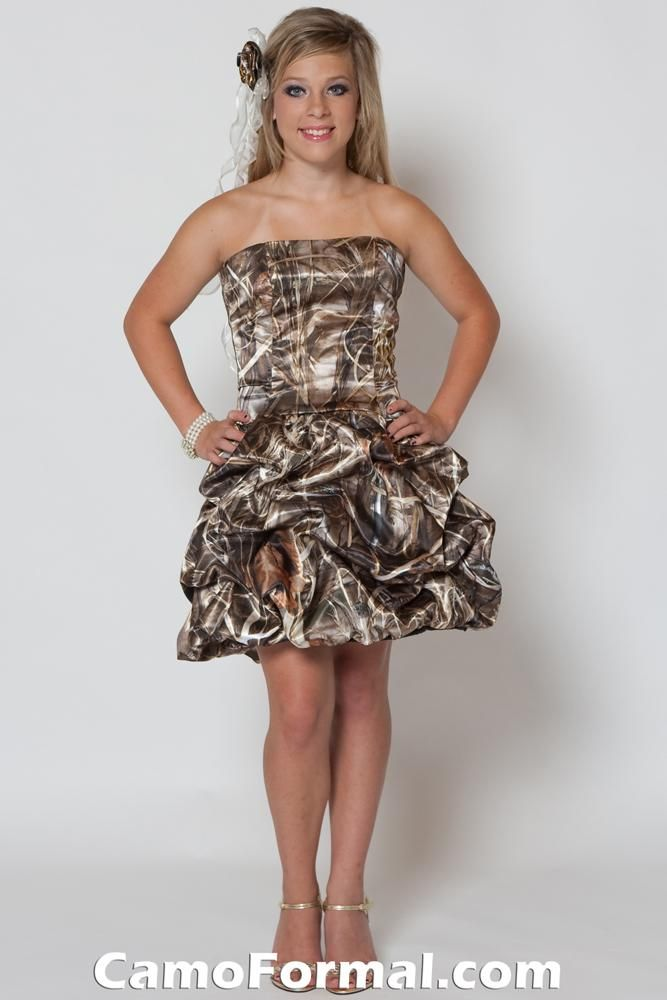 Mossy Oak Bridesmaid Dresses